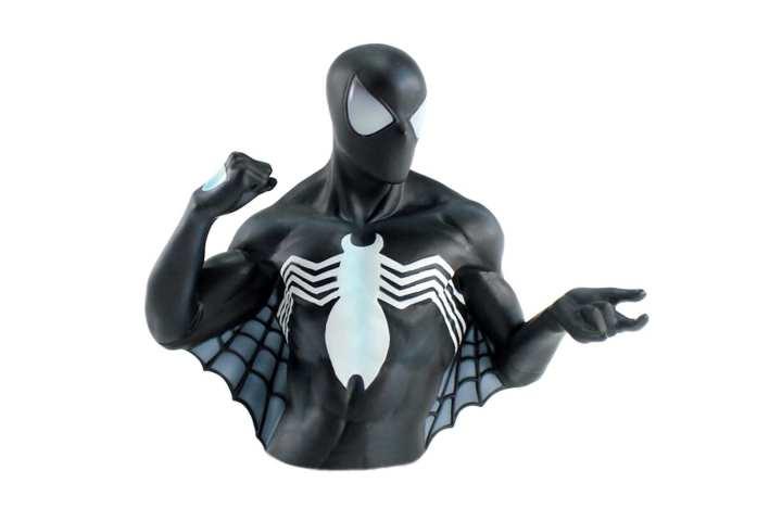 Black Spiderman Piggy Bank For Kids