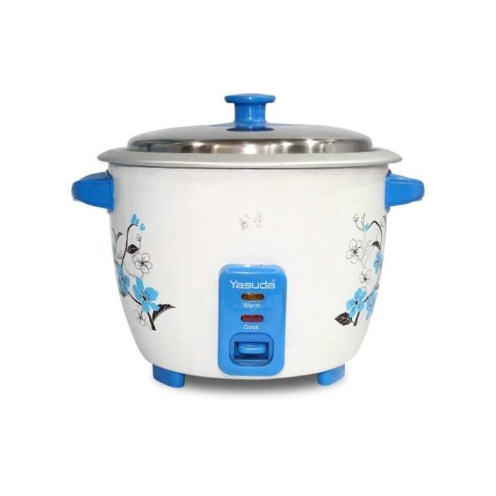 Yasuda YS-1500X 1.5 Ltr Automatic Cooking Rice Cooker - White/Blue