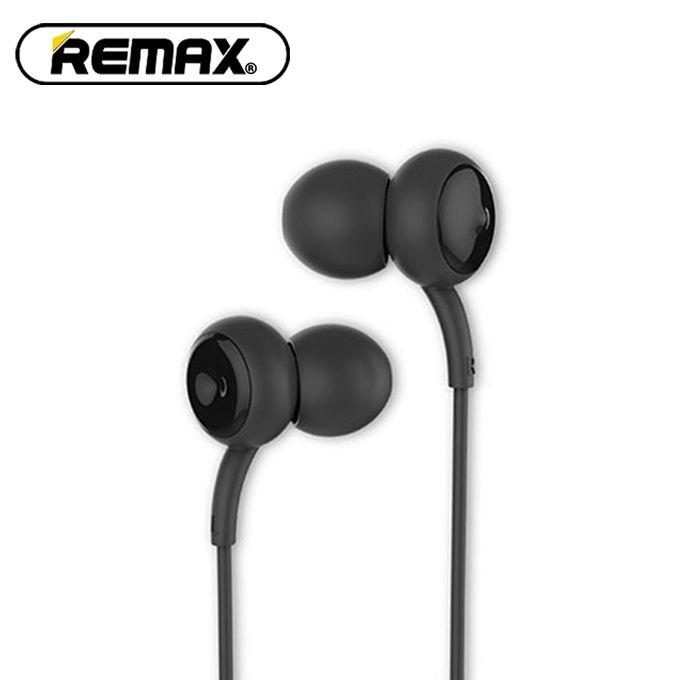RM-510 In-Ear Touch Music, Concave-Convex Design Earphone - (Black)