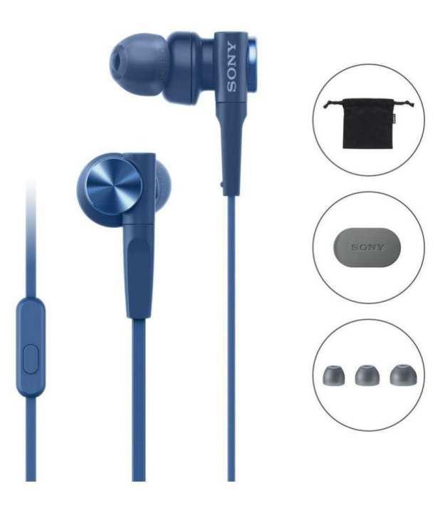 Sony MDR-XB55AP Extra Bass Earphone