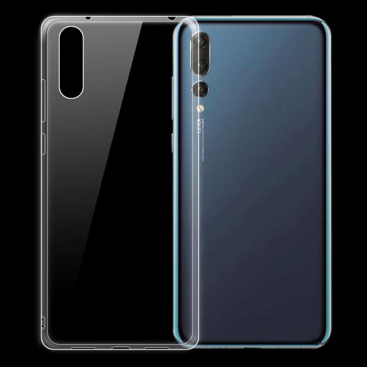 Dayspirit Ultra-Thin Protective TPU Back Case for Huawei P20 Pro - Transparent