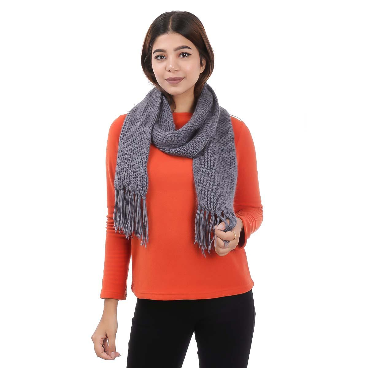 Knitted Woolen Muffler For Women Buy Online At Best Prices In Nepal Daraz Com Np