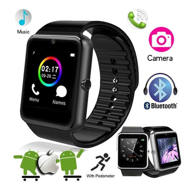 Fashion new product NFC Bluetooth Smart Watch GT08S With Camera facebook  Sync SMS MP3 Smartwatch Support Sim TF For IOS Android