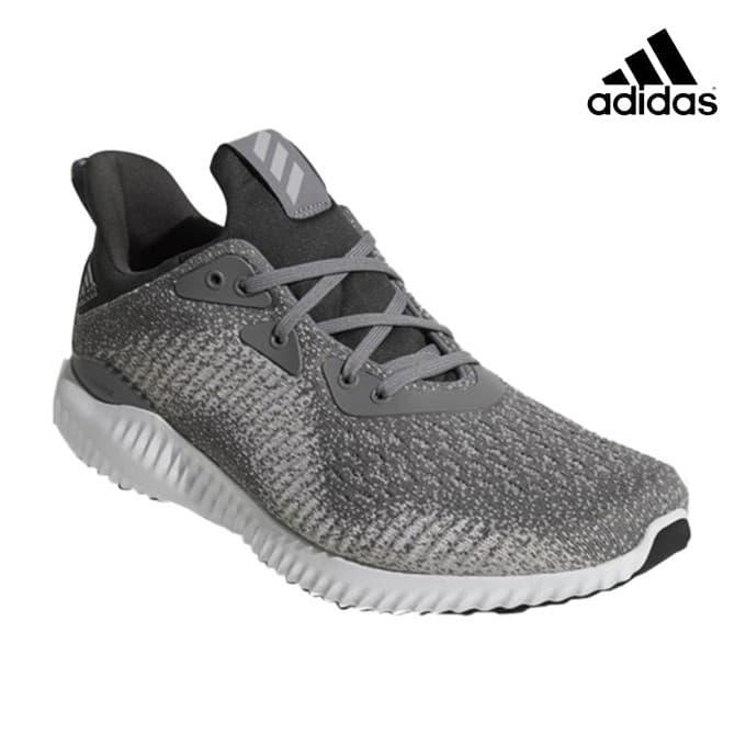 sneakers for cheap latest good service Adidas Grey/White Alphabounce EM Running Shoes For Men - DB1091