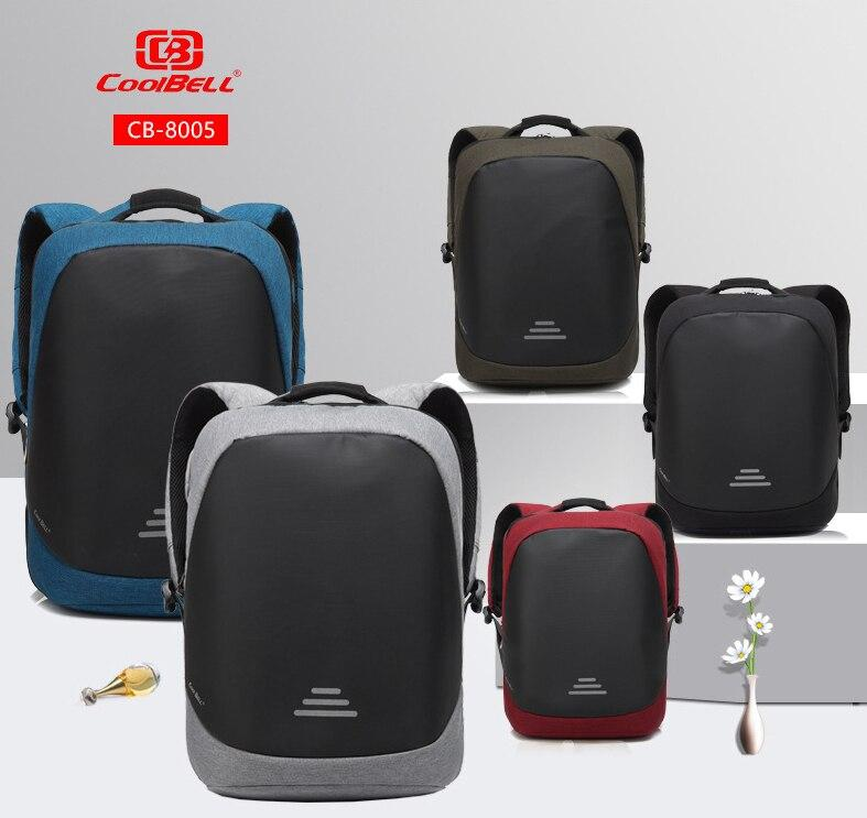 03088b0bcc2f CoolBell Anti Theft For 15.6 Inch Backpack Notebook Computer Laptop Bag  Waterproof Business Student Casual Bag