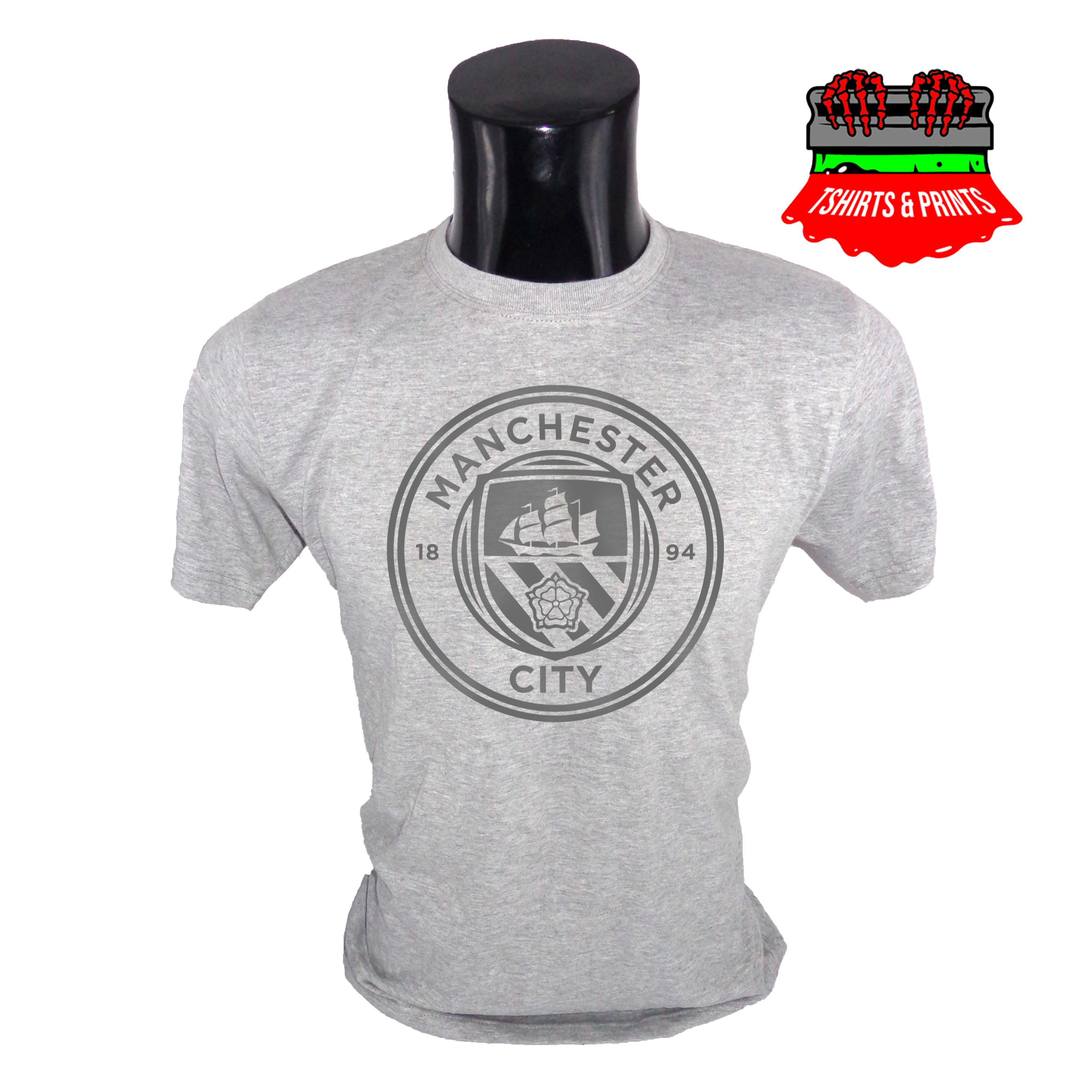 6b2f7afc Manchester City FC Logo Printed T-Shirt