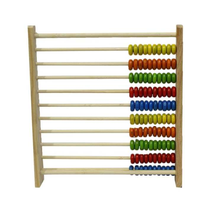 Multicolored Wooden Abacus For Kids