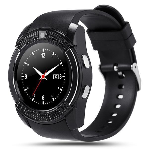 V8 SmartWatch Bluetooth Touch Screen Wrist Watch with Camera/SIM Card Slot,  Waterproof Smart Watch