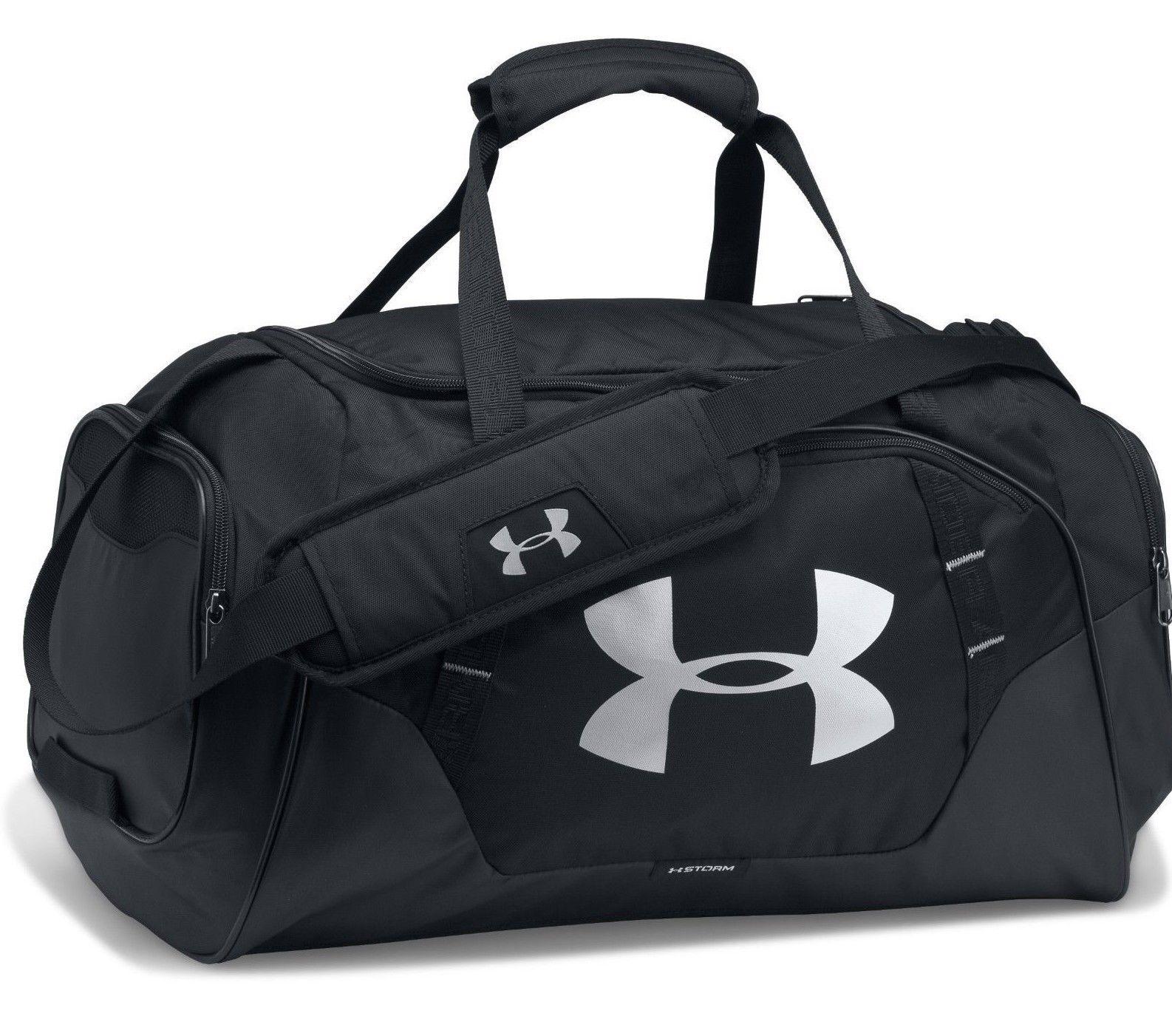 Under Armour Black Undeniable 3.0 LG Duffle Bag For Men - 1300216-001 86e62da68b155