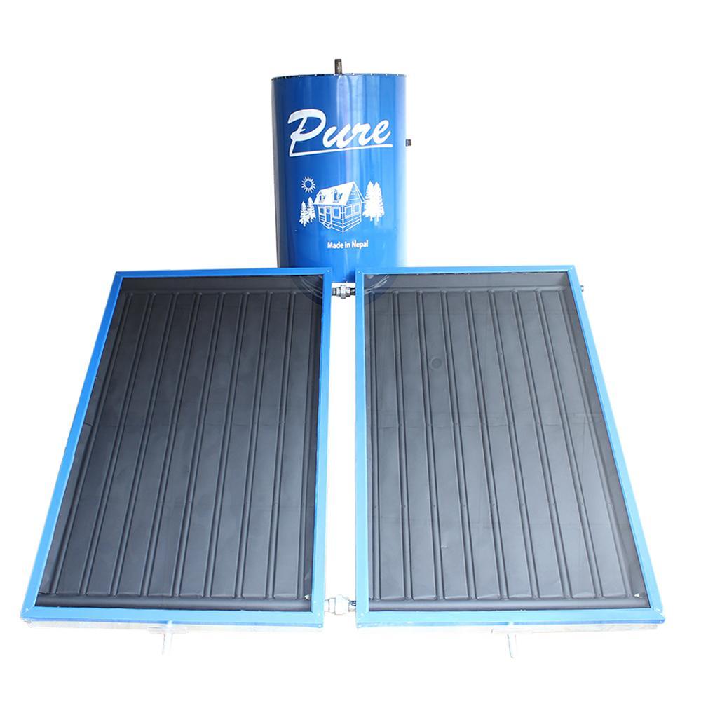 Pure International SBH-300 Litres Dual Panel Solar Water Heater