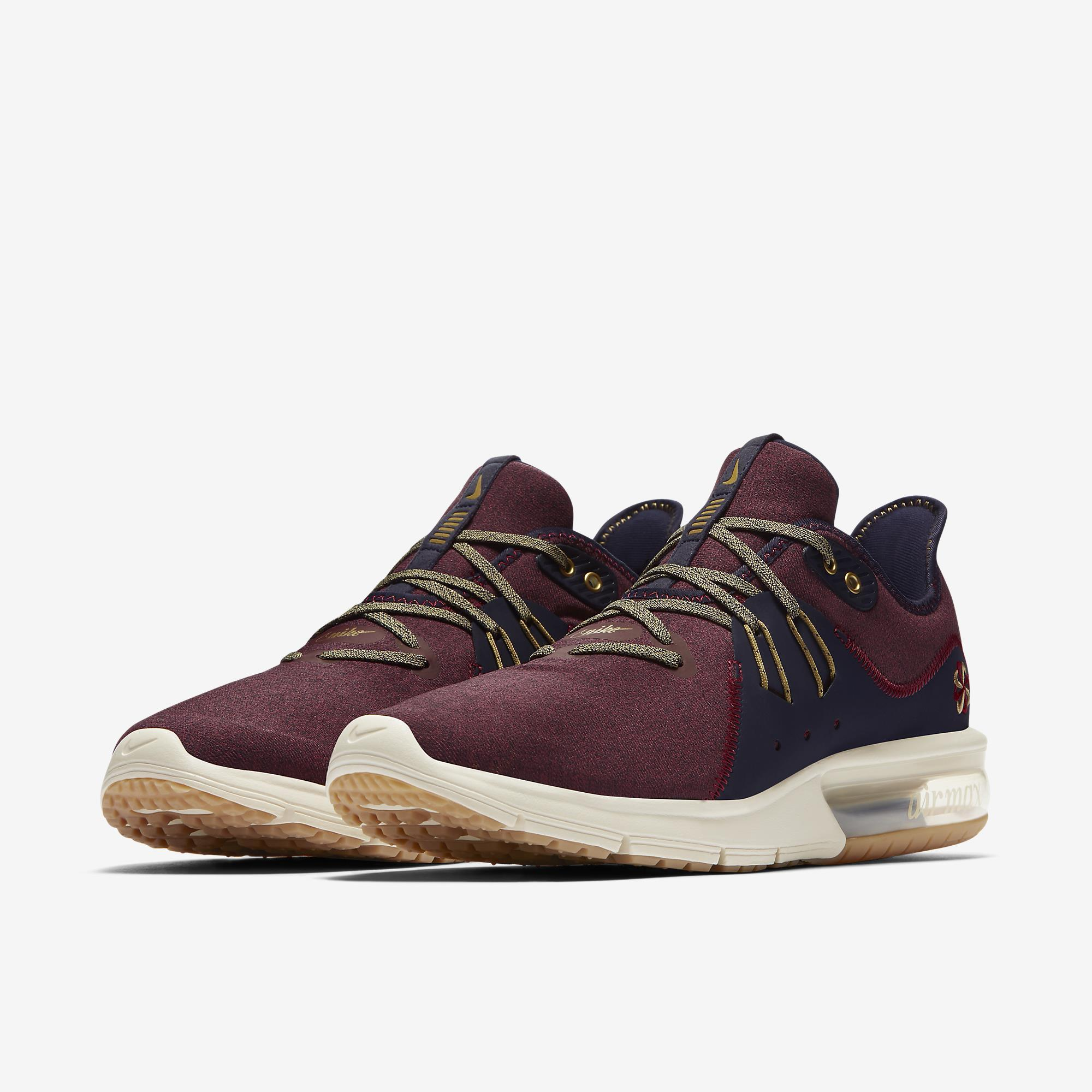 422c3d6ebe Nike Air Max Sequent 3 Premium VST Running Shoes men's - AR0253-600: Buy  Online at Best Prices in Nepal   Daraz.com.np
