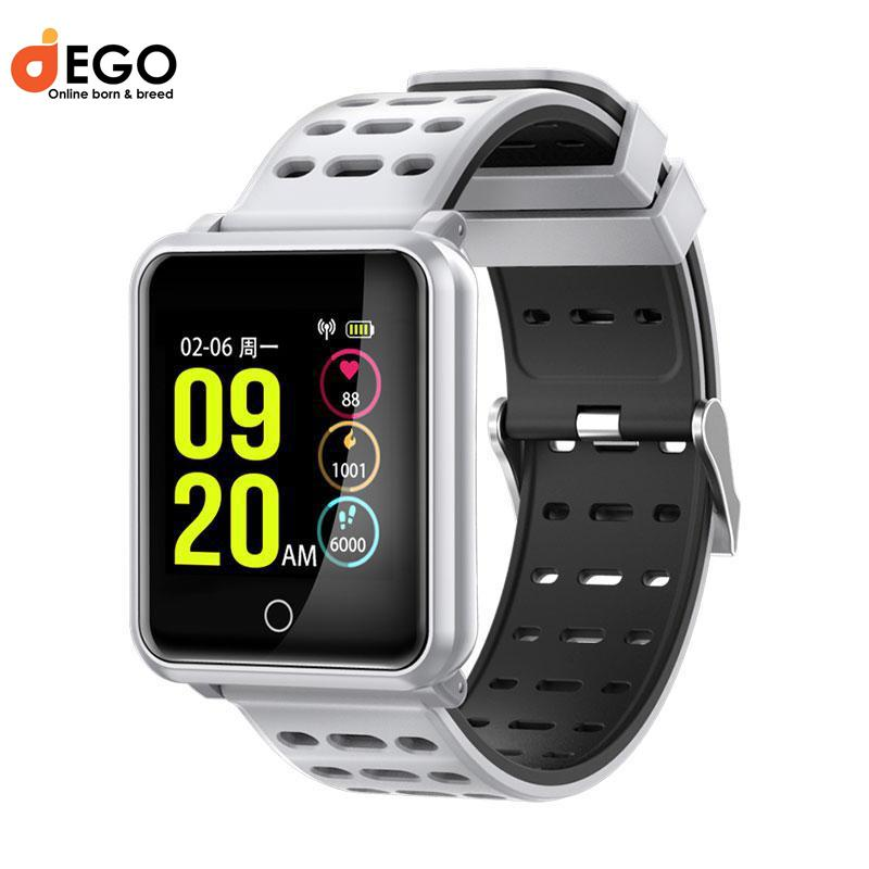 N88 Smart Watch Fitness Tracker with Heart Rate Monitor Sleep Pedometer  Activity Blood Pressure Oxygen Wristband Smartwatch For Android/IOS