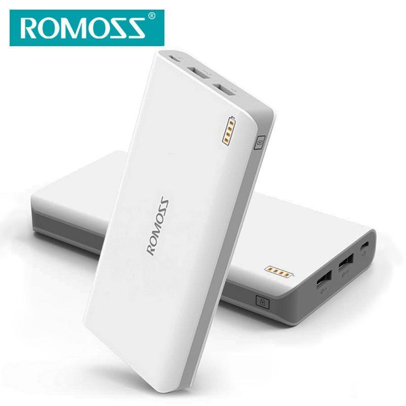 72417ba7092e93 Romoss Sense 6 PH80/20000mAh External Battery Pack Power Bank for Mobile  Phones/Tablet