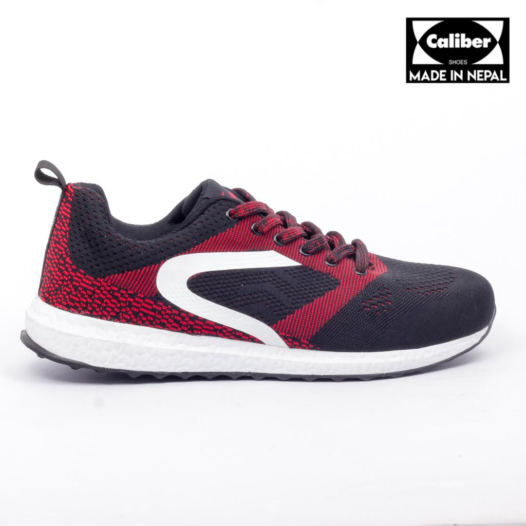 the latest d7b15 cdc34 Caliber Shoes Red Ultralight Sport Shoes For Men- ( 437 )
