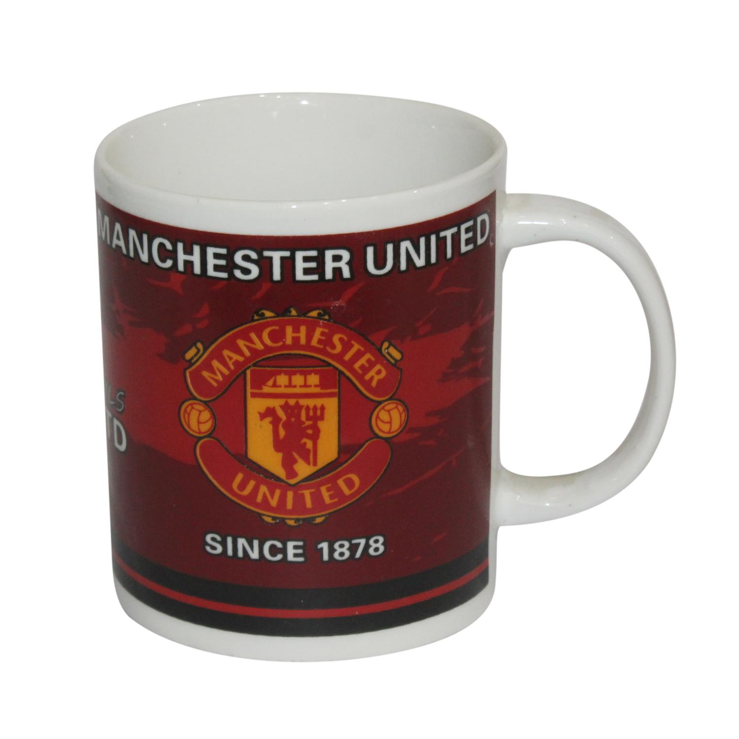 Football Club Logo Printed Ceramic Cup