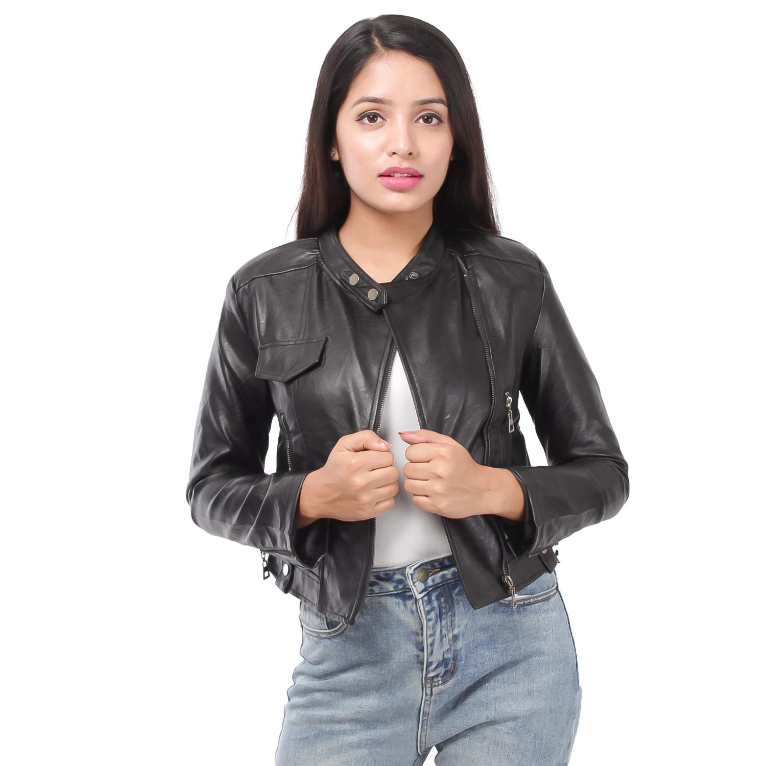 ae1ae4550aa69 Ladies Leather Jacket Price in Nepal - Buy Leather Jacket For Women ...