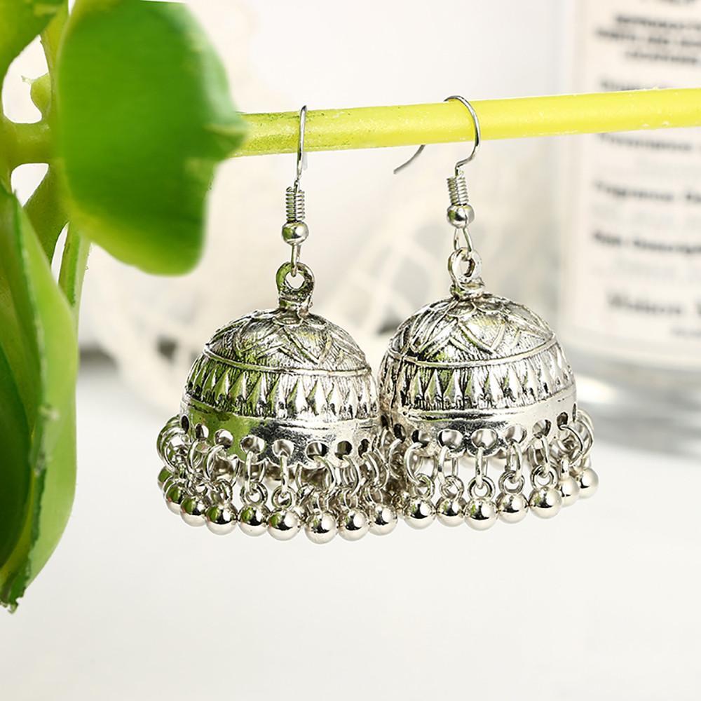 d0b1e7284 FashionieStore Earring Women Fashion Geometric Boho Round Ball Circle Bell  Love Earrings