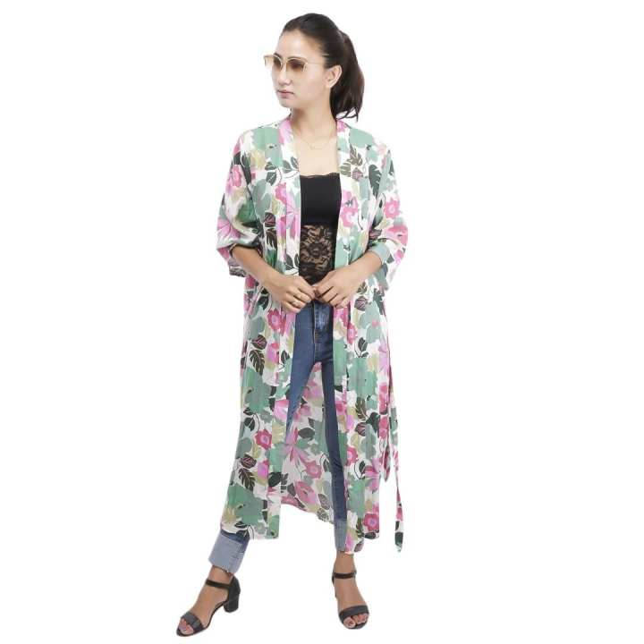 Floral Printed Outer For Women