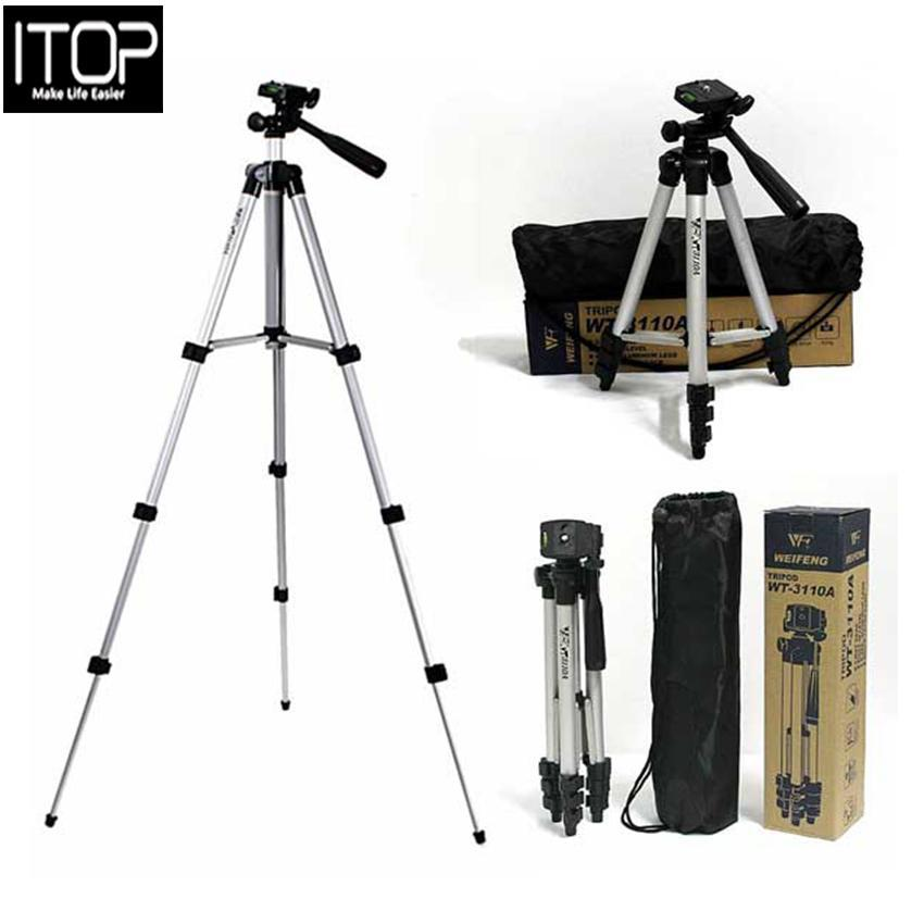 3110 Tripod Stand For DLSR Camera With Mobile Holder