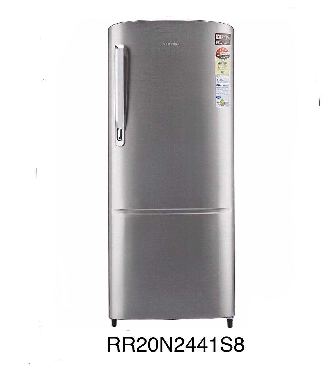 Samsung RR20N2441S8 192 Ltr Direct Cooling Single Door Refrigerator - Silver